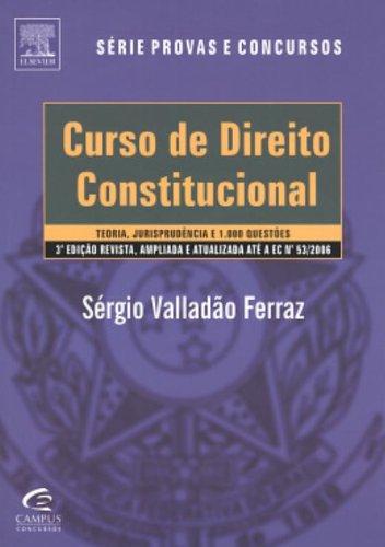 9788535230734: CURSO DE DIREITO CONSTITUCIONAL