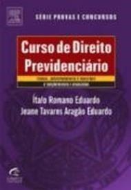 Curso De Direito Previdenciário - Sà rie Provas E Concursos (Em Portuguese do ...