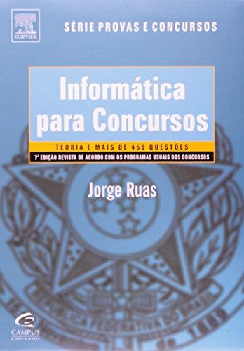 9788535236378: Informática Para Concursos - Teoria E Questões (Em Portuguese do Brasil)