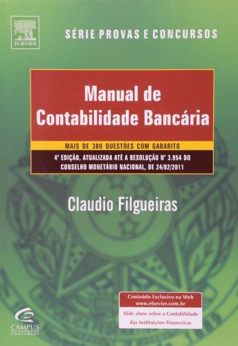 9788535248036: Manual De Contabilidade Bancaria (Em Portuguese do Brasil)