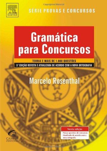 9788535251180: GRAMÁTICA PARA CONCURSOS, 5ª EDIÇÃO (Portuguese Edition)