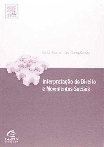 9788535254105: Interpretação dos Direitos e Movimentos Sociais