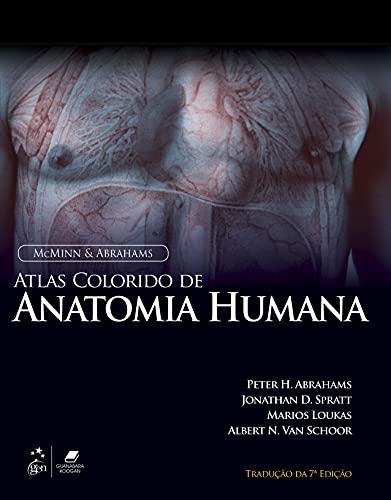 9788535273069: Atlas Colorido de Anatomia Humana - Mcminn & Abrahams