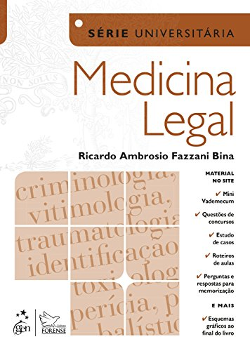 9788535275070: Medicina Legal - Serie Universitaria