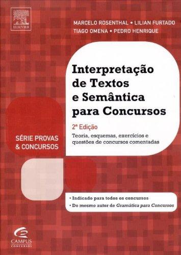 9788535276671: Interpretação de Textos e Semântica Para Concursos (Em Portuguese do Brasil)