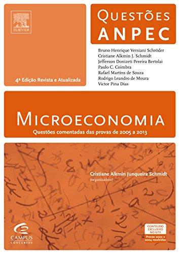 9788535277661: Microeconomia: Questoes Comentadas Das Provas de 2005 a 2013