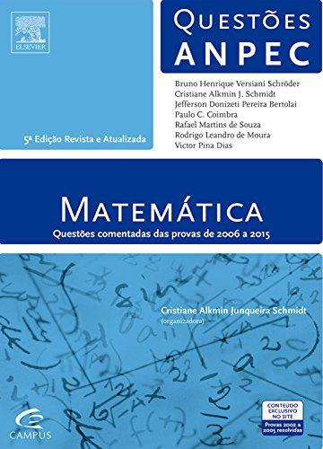 9788535282962: Matematica - Questoes Anpec