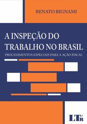 9788536110448: A Inspeção do Trabalho no Brasil (Em Portuguese do Brasil)