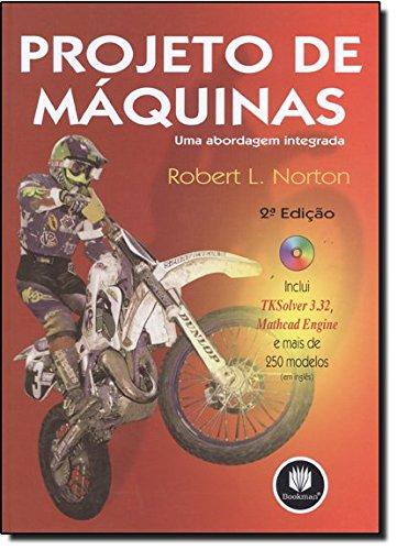 9788536302737: Projeto de Maquinas Uma Abordagem Integrada (Em Portuguese do Brasil)