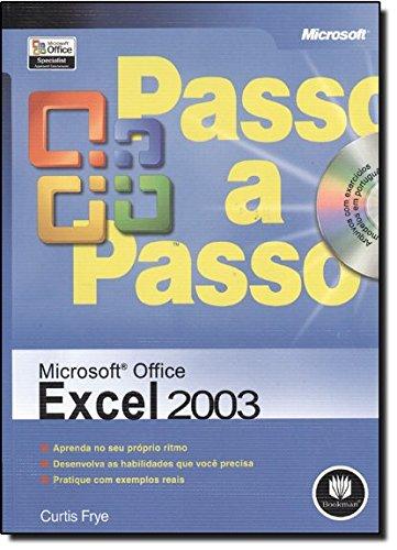 9788536306162: Microsoft Office Excel 2003 Passo A Passo (Em Portuguese do Brasil)