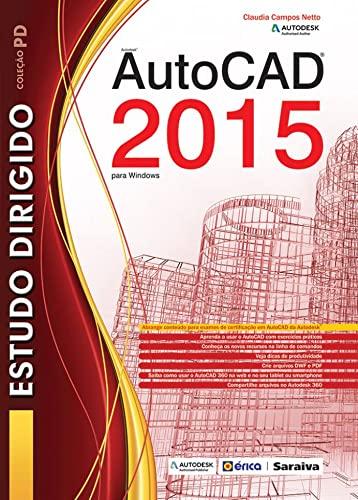 9788536509235: Estudo Dirigido de Autocad 2015: Para Windows