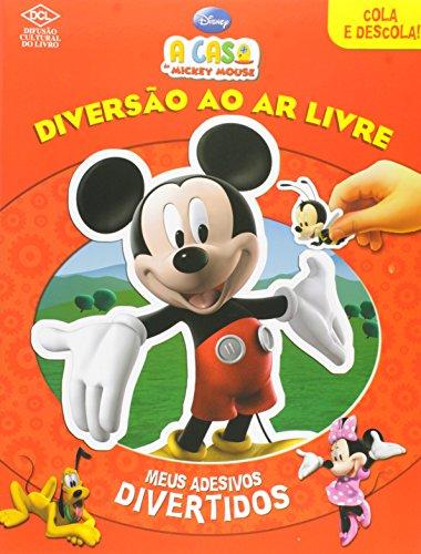 9788536805894: A Casa Do Mickey Mouse. Diversao Ao Ar Livre (Em Portuguese do Brasil)