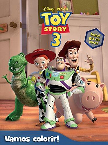 9788536822266: Toy Story - Volume 3. Coleção Disney Vamos Colorir (Em Portuguese do Brasil)