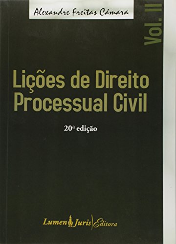 9788537511640: Licoes de Direito Processual Civil - Vol.2