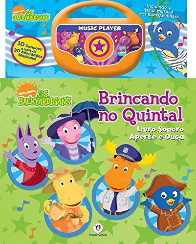 9788538018698: Backyardigans - Brincando no Quintal
