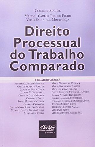 9788538400271: Direito Processual Do Trabalho Comparado