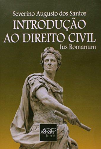 9788538400424: Introdu‹o ao Direito Civil: Ius Romanum
