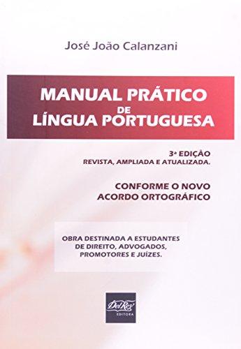 9788538402039: Manual Pratico de Lingua Portuguesa