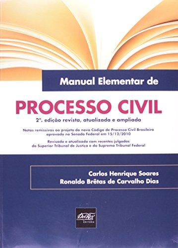 9788538402695: Manual Elementar De Processo Civil (Em Portuguese do Brasil)