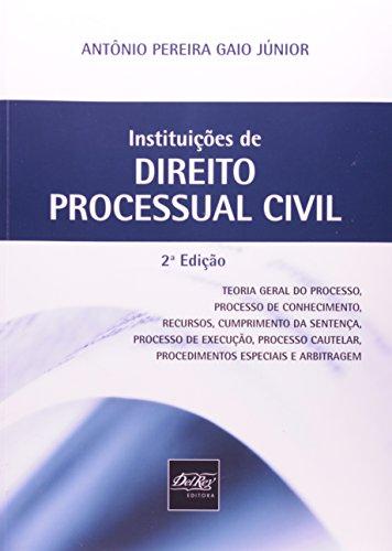 9788538402893: Instituicoes de Direito Processual Civil