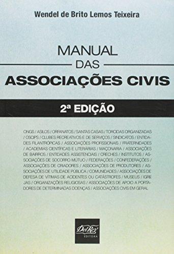 9788538403517: Manual das Associacoes Civis