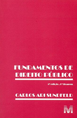 9788539200399: Fundamentos de Direito Publico