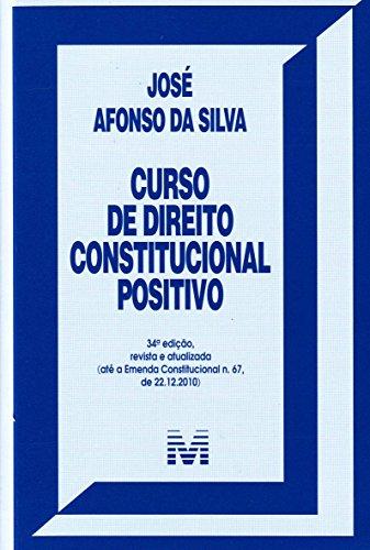 9788539200559: Curso de Direito Constitucional Positivo