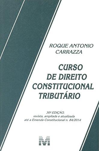 9788539202874: Curso de Direito Constitucional Tributario