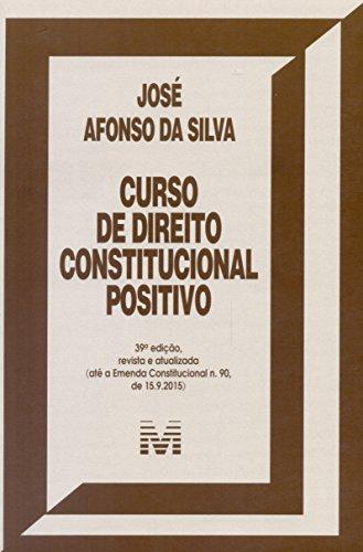 9788539203185: Curso de Direito Constitucional Positivo
