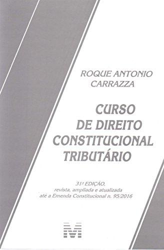 9788539203420: Curso de Direito Constitucional Tributario