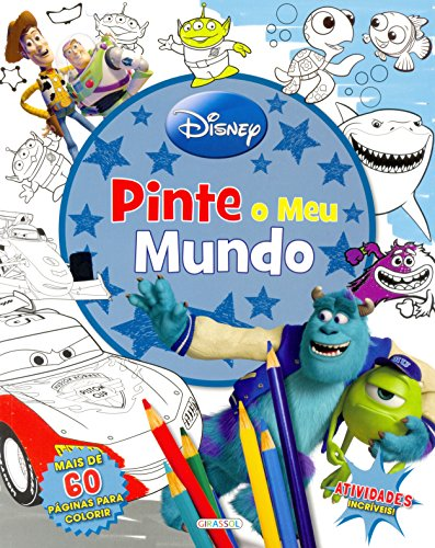 9788539414840: Pinte o Meu Mundo - Coleção Disney Pixar (Em Portuguese do Brasil)