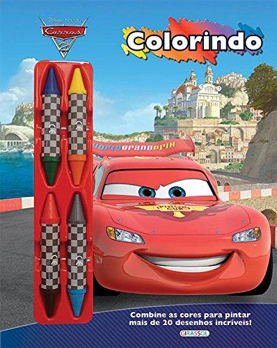 9788539414864: Carros - Volume 3. Coleção Disney Colorindo (Em Portuguese do Brasil)