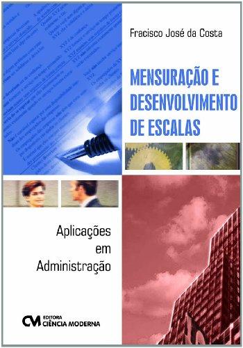9788539901449: Mensuração e Desenvolvimento de Escalas. Aplicações em Administração (Em Portuguese do Brasil)