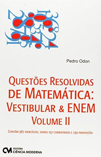 9788539904105: Questoes Resolvidas De Matematica - V.2 (Em Portuguese do Brasil)