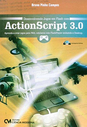 9788539904310: Desenvolvendo Jogos Em Flash Com Actionscript 3.0 (Em Portuguese do Brasil)