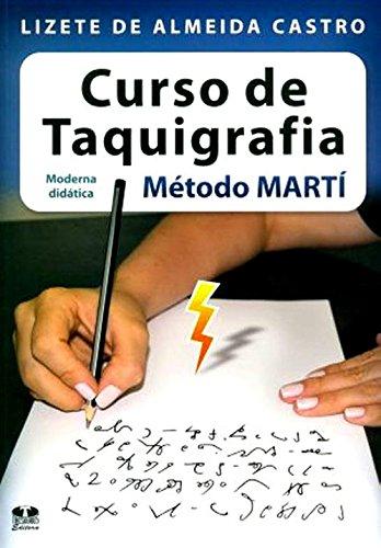 9788540900561: Curso de Taquigrafia. Método Martí