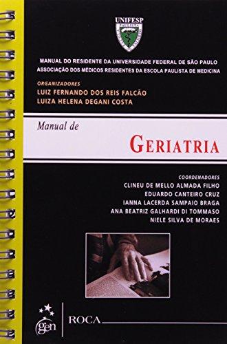 9788541200271: Manual de Geriatria - Série Manual do Residente da Universidade Paulista de Medicina (Em Portuguese do Brasil)