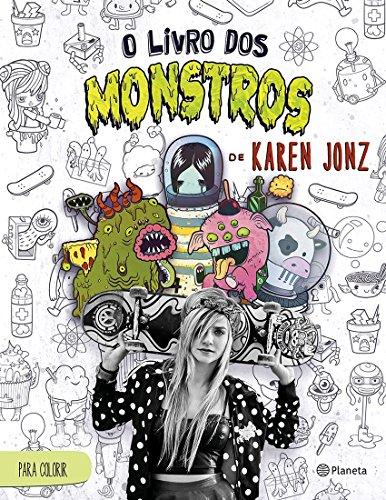 9788542205893: O Livro de Monstros de Karen Jonz (Em Portuguese do Brasil)