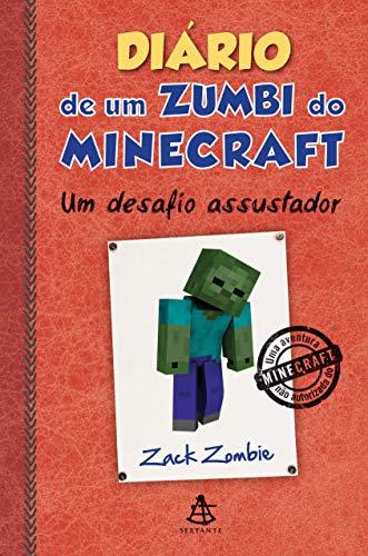 9788543102641: Diário de Um Zumbi do Minecraft. Um Desafio Assustador (Em Portuguese do Brasil)