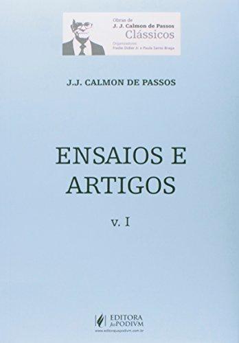 9788544200247: Ensaios e Artigos - Vol.1 - Colecao Obras de J. J. Calmon de Passos