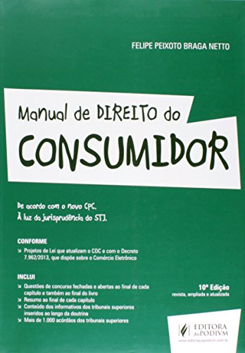 9788544202159: Manual de Direito do Consumidor. À Luz da Jurisprudência do STJ (Em Portuguese do Brasil)
