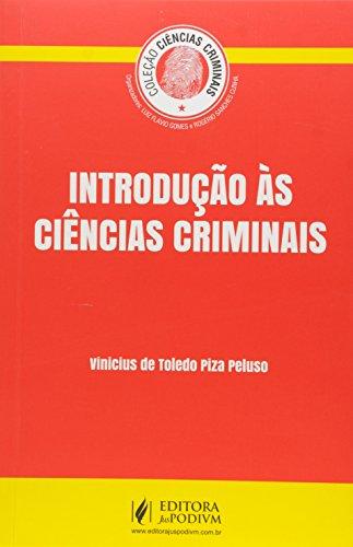 9788544202937: Introducao as Ciencias Criminais - Colecao Ciencias Criminais