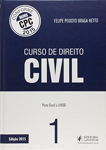 9788544203293: Curso de Direito Civil: Lindb e Parte Geral - Vol.1 - Com Base no Novo Cpc 2015