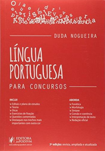 9788544206027: L'ngua Portuguesa: Para Concursos