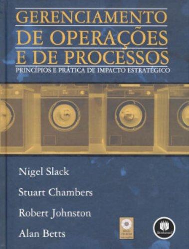 9788560031962: Gerenciamento de Operações e de Processos (Em Portuguese do Brasil)