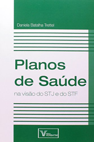 9788561996222: Planos de Saúde na Visão do STJ e do STF (Em Portuguese do Brasil)