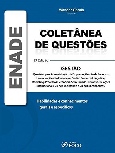 9788562168758: Coletanea de Questoes - Enade Gestao - 2»Ed.