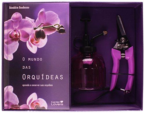 9788562247446: Kit - o Mundo Das Orquideas - 1ª Ed. 2011 (Acompanha Vaporizador e Tesoura de Polda)