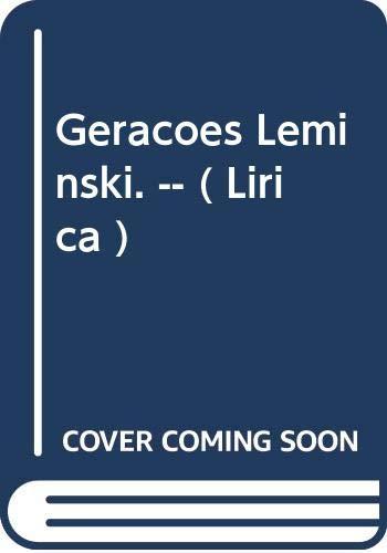 Gerações Leminski. -- ( Lírica ): Leminsky, Maria