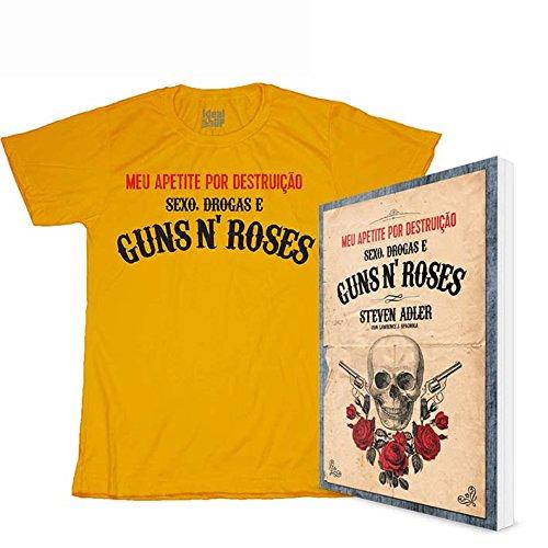 9788562885464: Combo. Guns'n'roses ( Kit Livro + Camiseta Algodão) (Em Portuguese do Brasil)